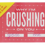 Paperchase Novelty Book: Why I'm crushing on you