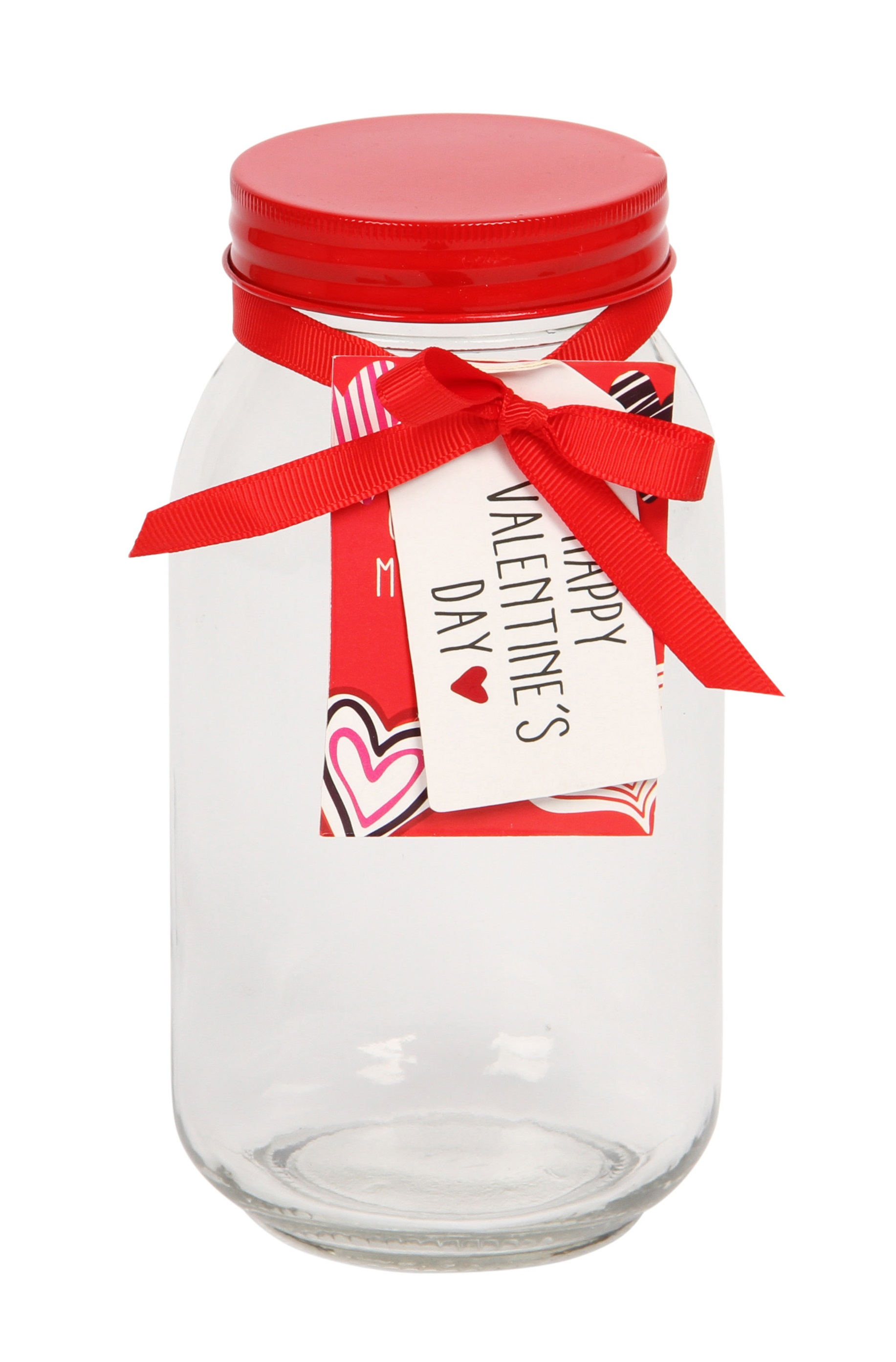 Large Valentines storage jar from Paperchase