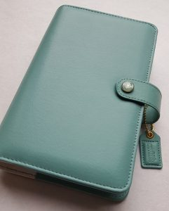 Webster's Pages personal teal planner