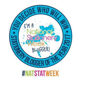 #NatStatWeek Stationery Blogger