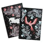 Papio Press Notebook - Unicorn & Phoenix