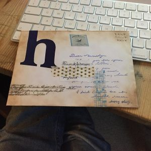 Letters from Hannah's penpals