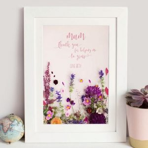 Personalised Gift Guide - Flower Print