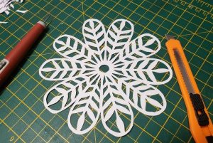 National Craft Month: Papercutting