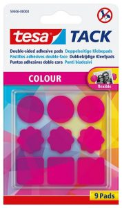 tesa tack colour pads
