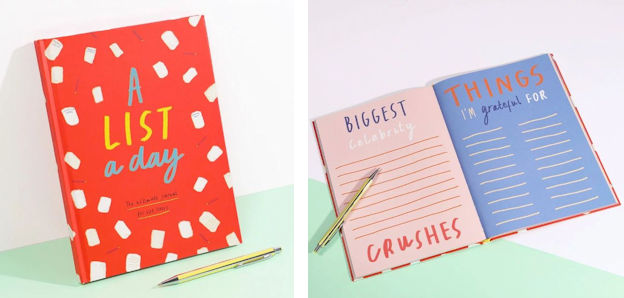 The New A List A Day Journal