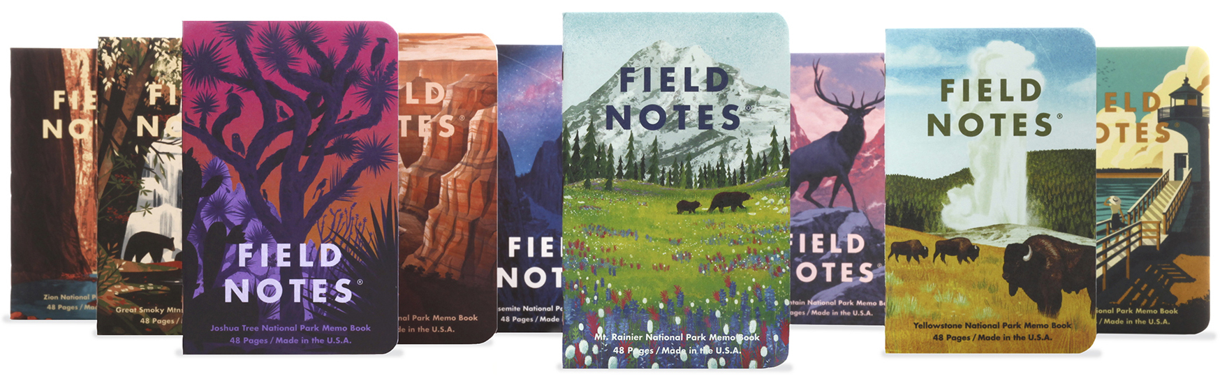 Field Notes National Park Series