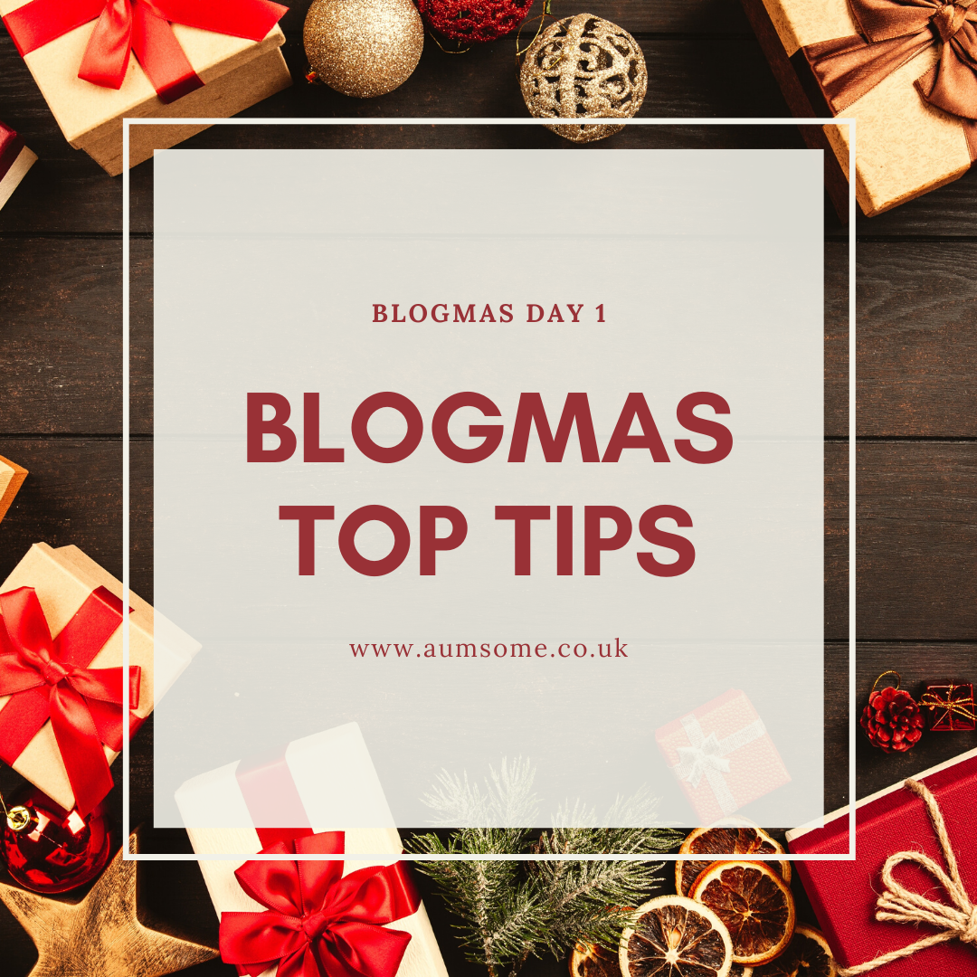 Blogmas Tips blog post cover image