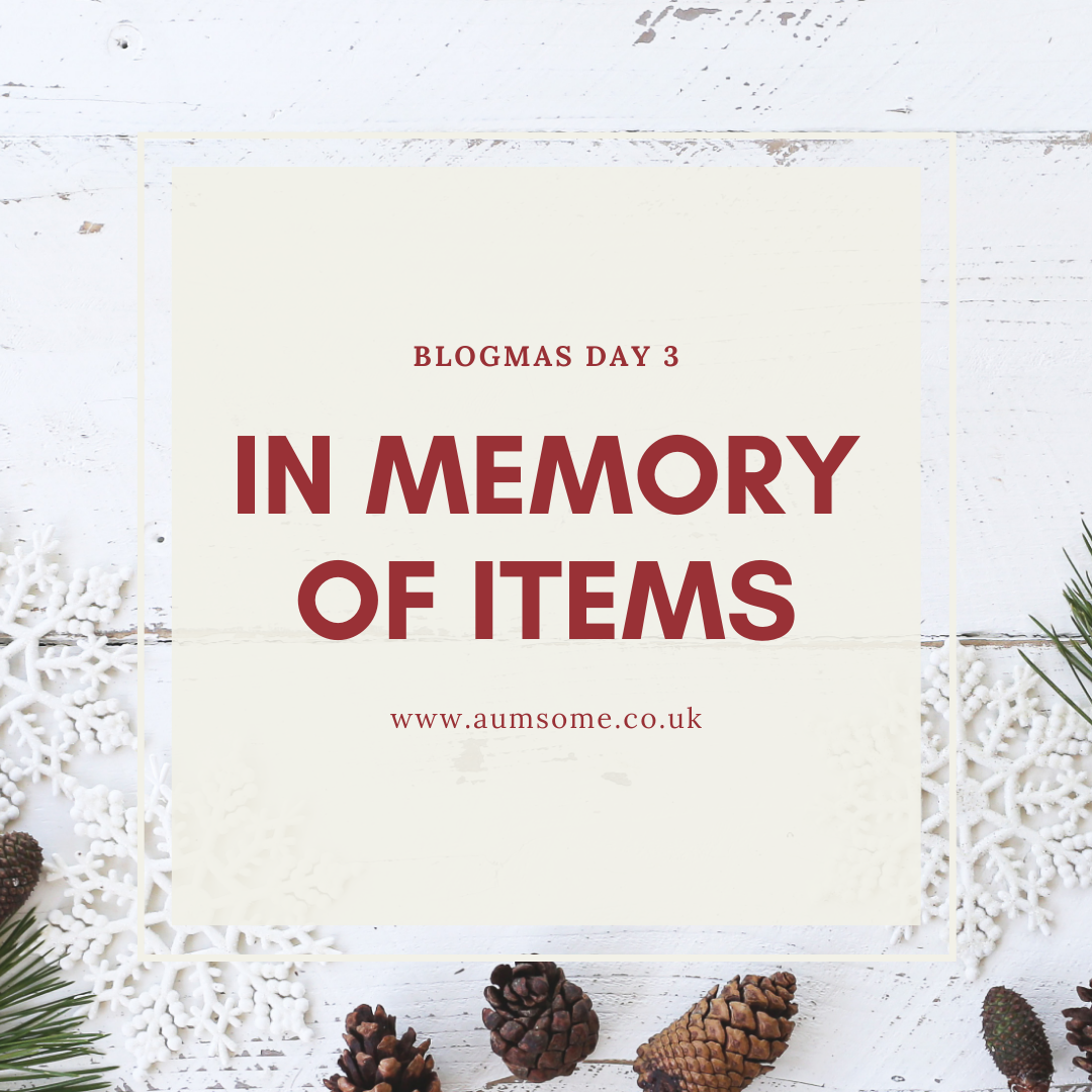 In Memory Of Items