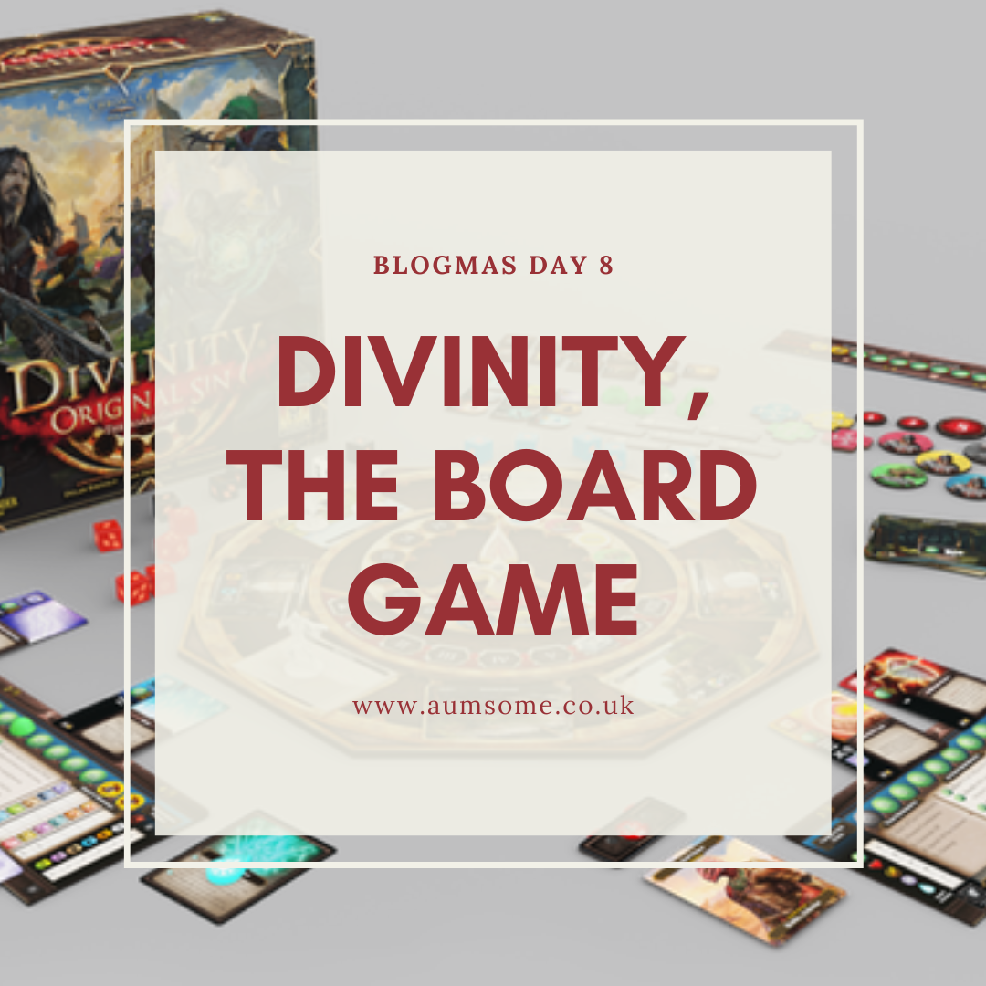 Blogmas Day 8 - Divinity Original Sin Board Game
