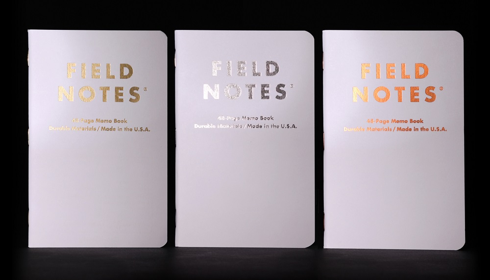 Field Notes Group Eleven Notebooks