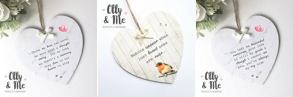 Olly And Me Designs In Memory Of Hearts