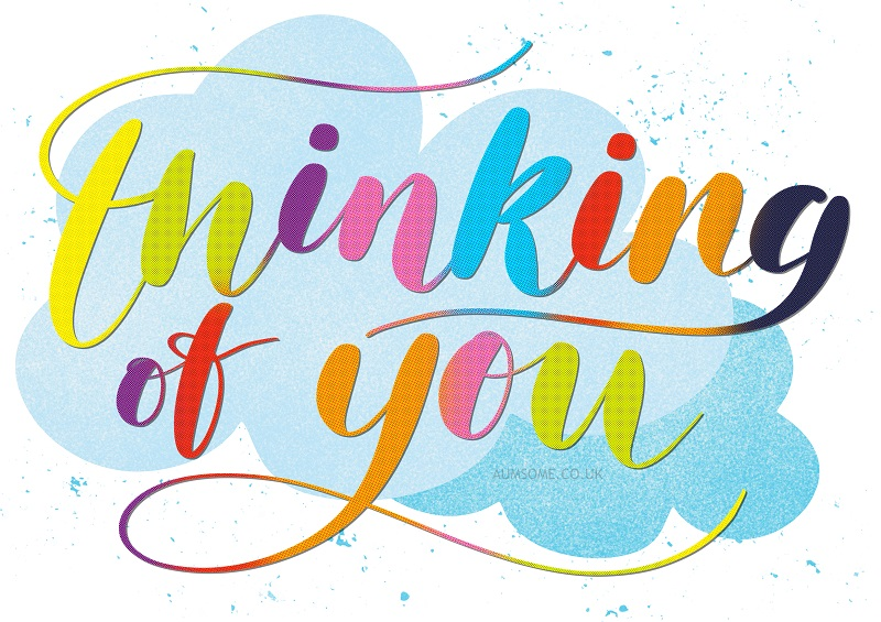 Thinking of You Freebie Card with credit